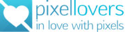 Logo pixellovers - in love with pixels
