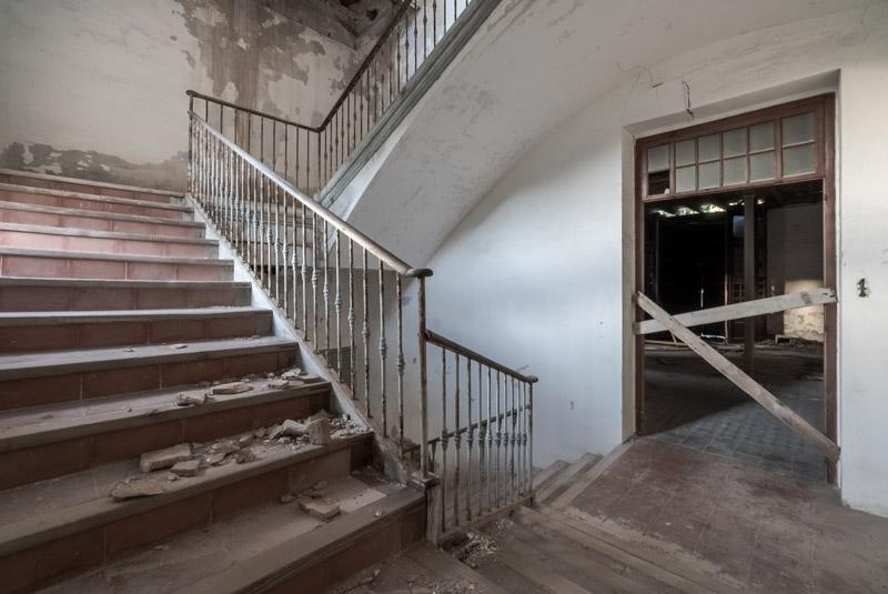 Bruchbude einer Immobilie