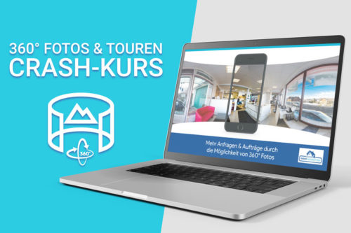 360° Fotos & Touren Crash-Kurs