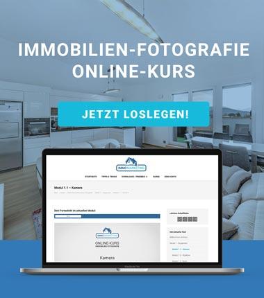 Immobilien-Fotografie als Online-Kurs
