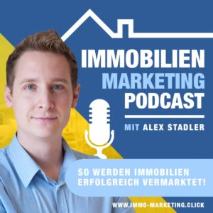 Immobilien Marketing Podcast Coverbild