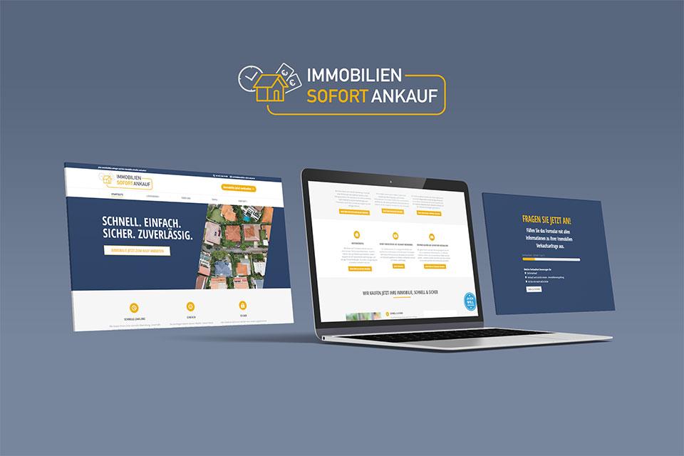 Vorschau der Website von Immobilien Sofort Ankauf