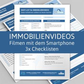 Immobilienvideos mit dem Smartphone filmen Checklisten