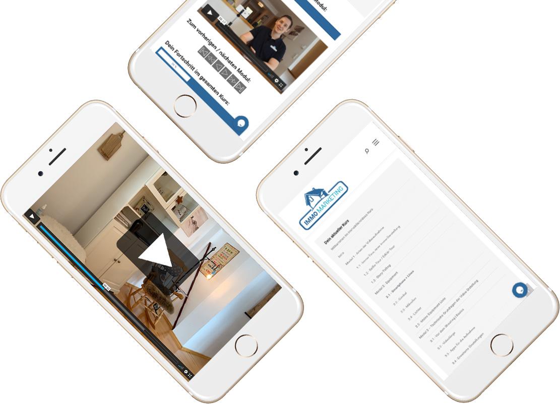 Immobilien-Videos selber filmen - Online-Kurs