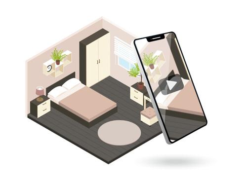 Immobilien mit dem Smartphone selbst filmen