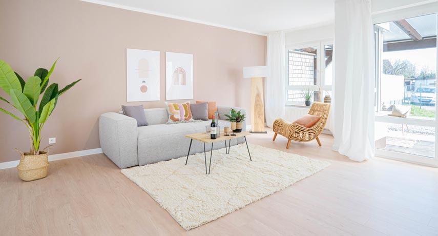 Immobilie mit professionellem Home Staging