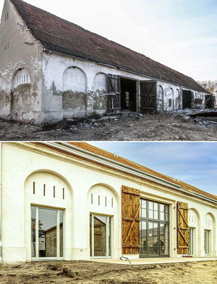 Denkmalimmobilie in Brandenburg   CAPRI Projekt