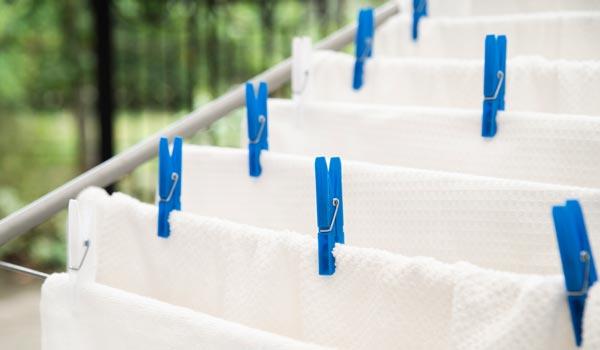 Wäschetrockner zum Handtücher, Bikinis und Co. in der Ferienwohnung trocknen